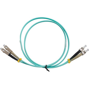 ST-SC Duplex OM3 Multimode Fibre Patch Lead 2m