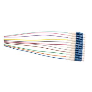 LC OS1/OS2 Singlemode Pigtail 900um 2m Colour 12pk