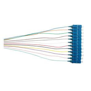 SC OS1/OS2 Singlemode Pigtail 900um 2m Colour 12pk