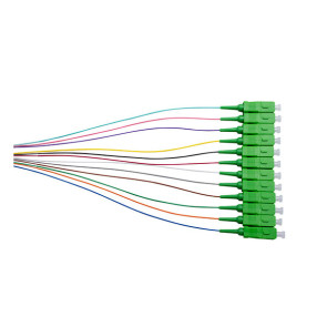 SCA OS1/OS2 Singlemode Pigtail 900um 2m Colour 12pk