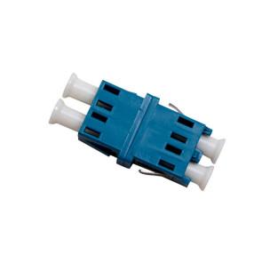LC Singlemode Duplex Thru Adaptor (6 Pack)