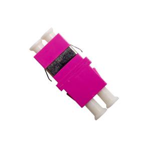 LC Multimode OM4 Duplex Thru Adaptor (6 Pack)