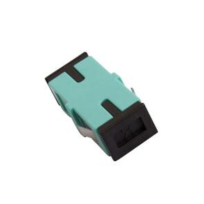 SC Multimode OM3 Simplex Thru Adaptor (6 Pack)